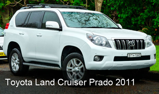 Toyota Land Cruiser Prado 2011 Blanco